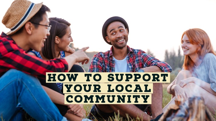 how to support your local community