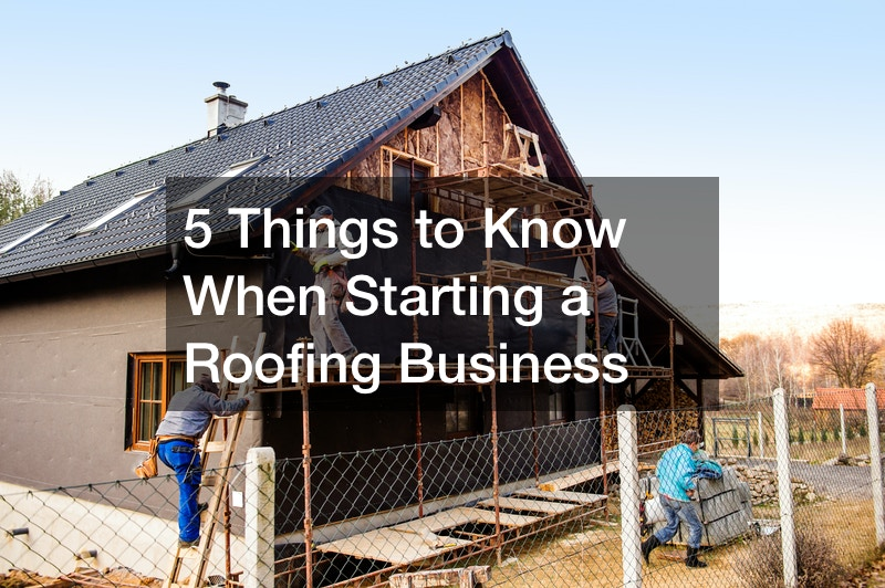how to run a roofing business