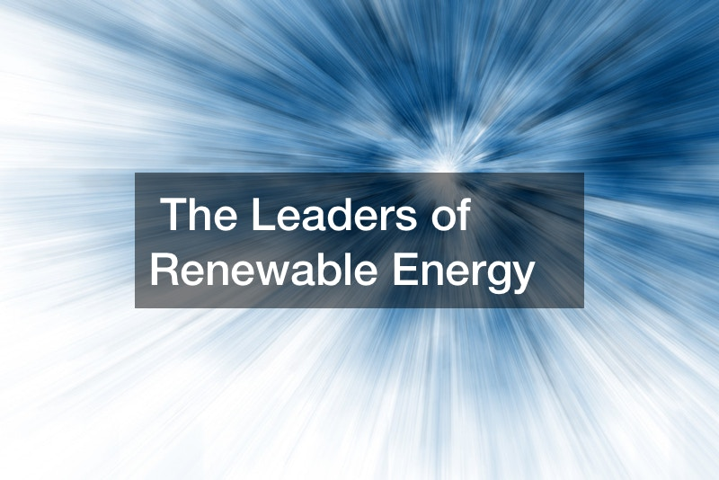 The Leaders of Renewable Energy